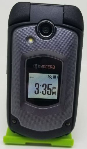 Kyocera DuraXTP E4281 Black Sprint Rugged Flip Phone